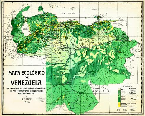 Mapa De Venezuela Con Los Diferentes Tipos De Suelos